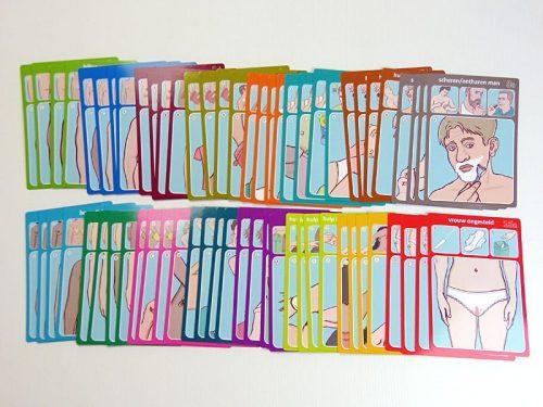 Lijf en Liefde sets spelkaarten