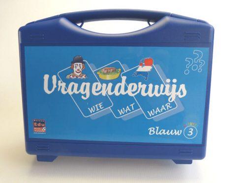 koffer Vragenderwijs Blauw deel 3 Visueel