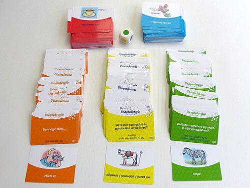 spelkaarten Vragenderwijs Blauw deel 3 Visueel